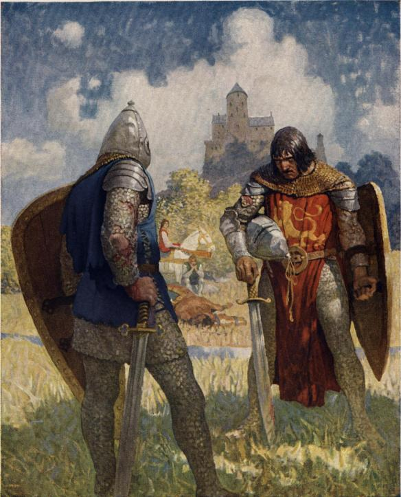 Boys_King_Arthur_-_N._C._Wyeth_-_p38
